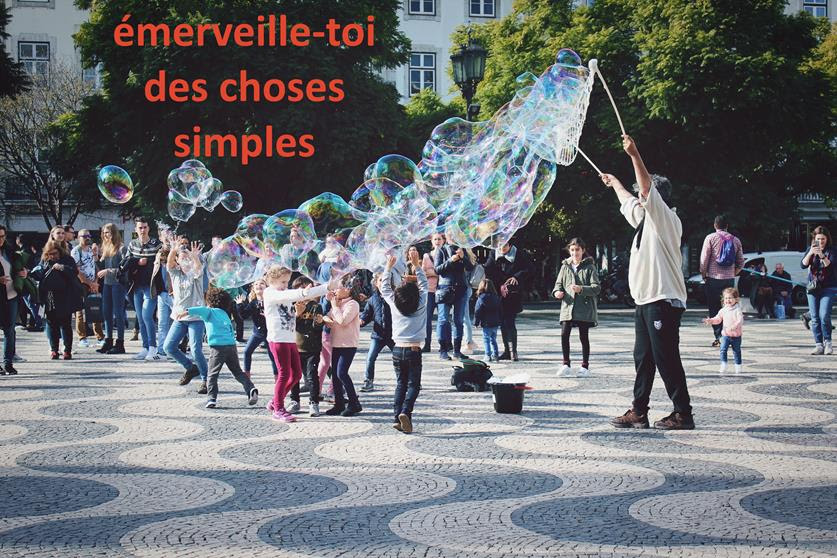 Citation du coach | Émerveille-toi des choses simples